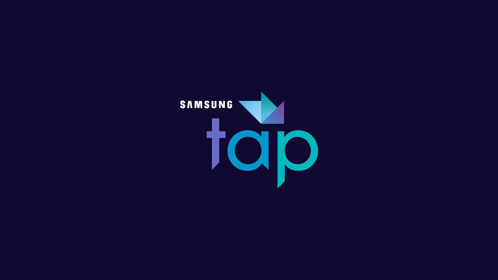 Samsung Tap Logo – Color